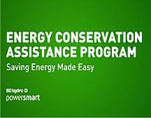 BC Hydro Program Helps Save Money & Energy